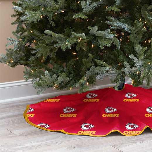 NFLCT-CHIEF-12:  Christmas Tree Skirt
