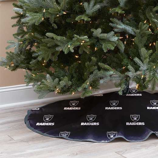 NFLCT-RAID-12:  Christmas Tree Skirt