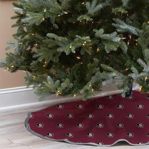 NCAACT-FSU-12:  Christmas Tree Skirt