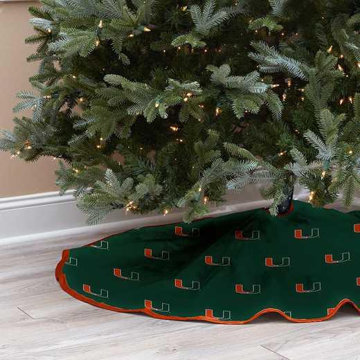 NCAACT-UM-12:  Christmas Tree Skirt