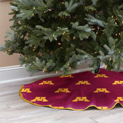 NCAACT-MN-12:  Christmas Tree Skirt