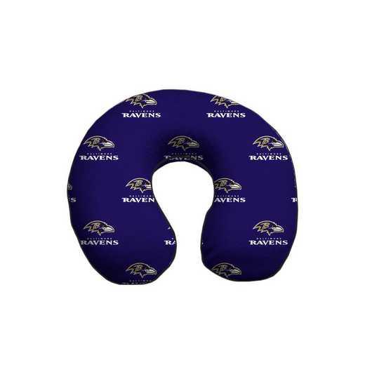 NFLTP-RAVE-12:  Memory Foam Travel Pillow