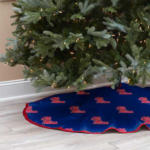 NCAACT-MISS-12:  Christmas Tree Skirt