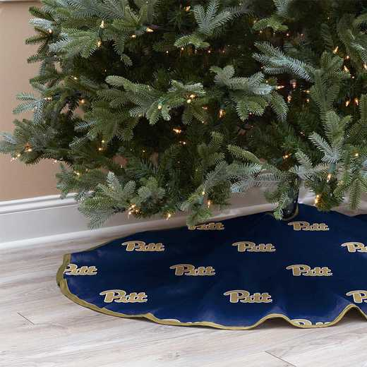 NCAACT-PITT-12:  Christmas Tree Skirt