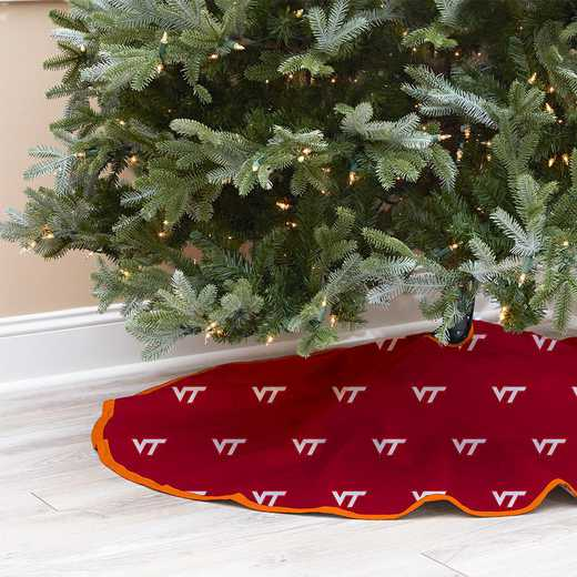 NCAACT-VT-12:  Christmas Tree Skirt