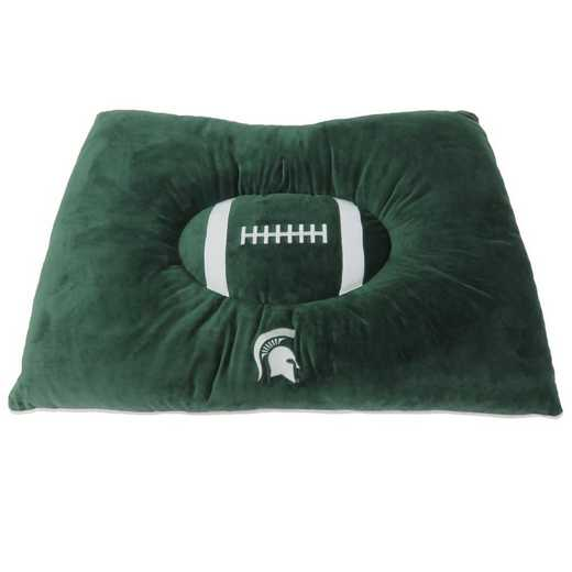 MS-3188: MICHIGAN STATE SPARTANS PILLOW BED