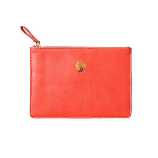 SKYP03: Sky  Miller Coral Strawberry Pouch