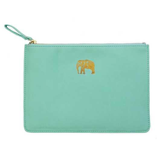 SKYP05: Sky  Miller Light Blue Elephant Pouch