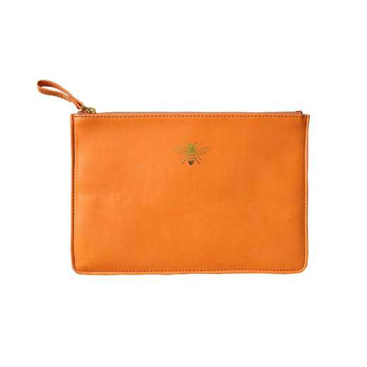 SKYP06: Sky  Miller Orange Bee Pouch