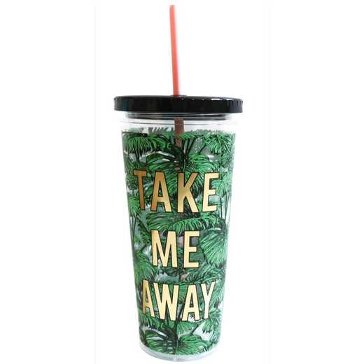 ASGT1813: Alice Scott Tumbler with Straw