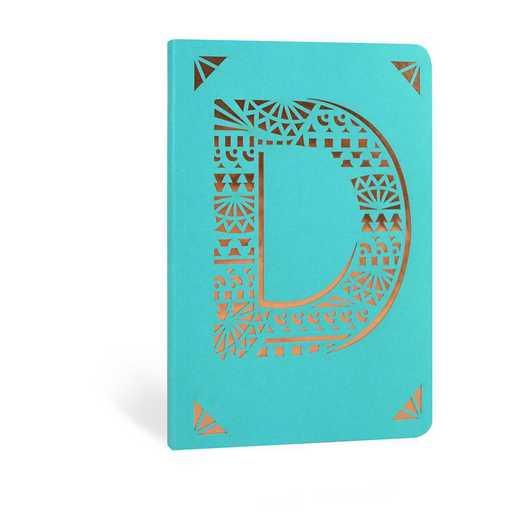 D1F: Portico/Monogram Notebook D1F D FOIL A6 NOTEBOOK