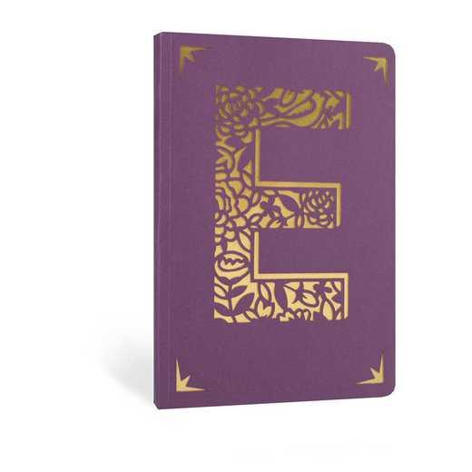 E1F: Portico/Monogram Notebook E1F E FOIL A6 NOTEBOOK
