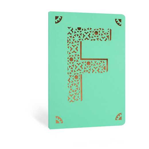 F1F: Portico/Monogram Notebook F1F F FOIL A6 NOTEBOOK