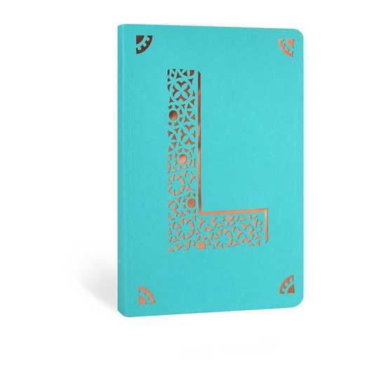 L1F: Portico/Monogram Notebook L1F L FOIL A6 NOTEBOOK