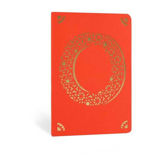 O1F: Portico/Monogram Notebook O1F O FOIL A6 NOTEBOOK