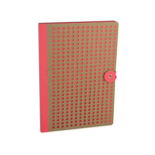 ORGB501 : Full Circle Notebook Orange & Kraft lasercut B5 Notebook