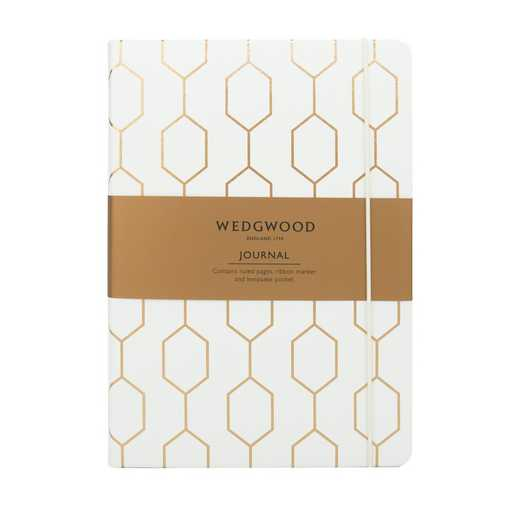 PWWA09: Wedgwood Collection A5 Journal WHITE