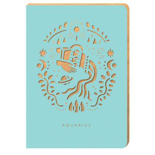 PZ02: Portico/Zodiac Notebook Aquarius Zodiac Notebook
