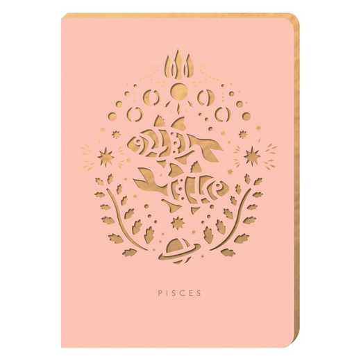 PZ03: Portico/Zodiac Notebook Pisces Zodiac Notebook