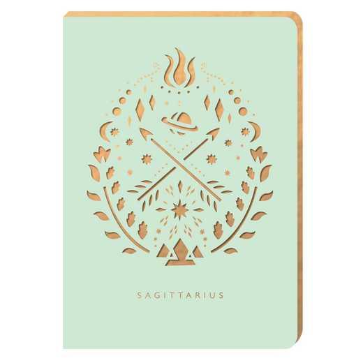 PZ12: Portico/Zodiac Notebook Sagittarius Zodiac Notebook