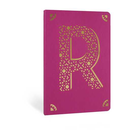 R1F: Portico/Monogram Notebook R1F R FOIL A6 NOTEBOOK