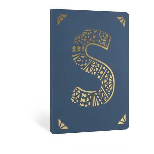 S1F: Portico/Monogram Notebook S1F S FOIL A6 NOTEBOOK