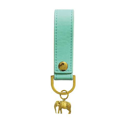 SKYK05: Sky + Miller Light Blue Elephant Keyring