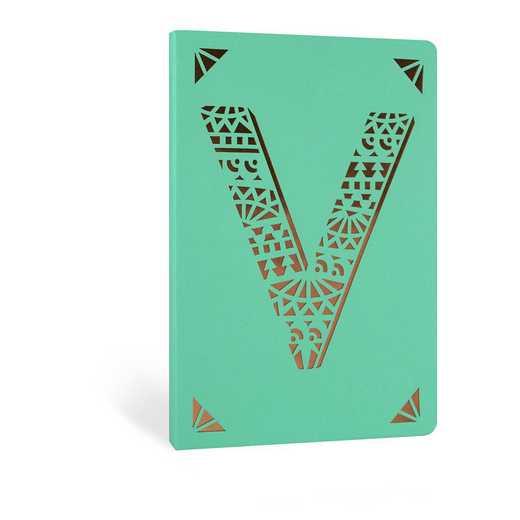 V1F: Portico/Monogram Notebook V1F V FOIL A6 NOTEBOOK