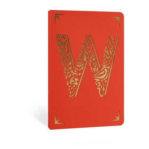 W1F: Portico/Monogram Notebook W1F W FOIL A6 NOTEBOOK