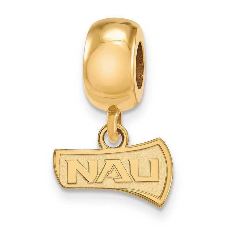 GP013NAU: SS Gp Logoart Nern Arizona U Reflection Beads Charm Xs Dangl