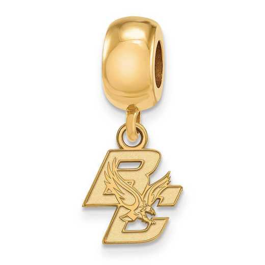 GP015BOC: SS/GP Logoart Boston College Reflection Beads Charm Xs Dangl