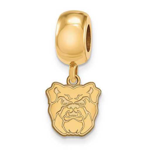 GP015BUT: SS Gp Logoart Butler Univ Reflection Beads Charm Xs Dangle
