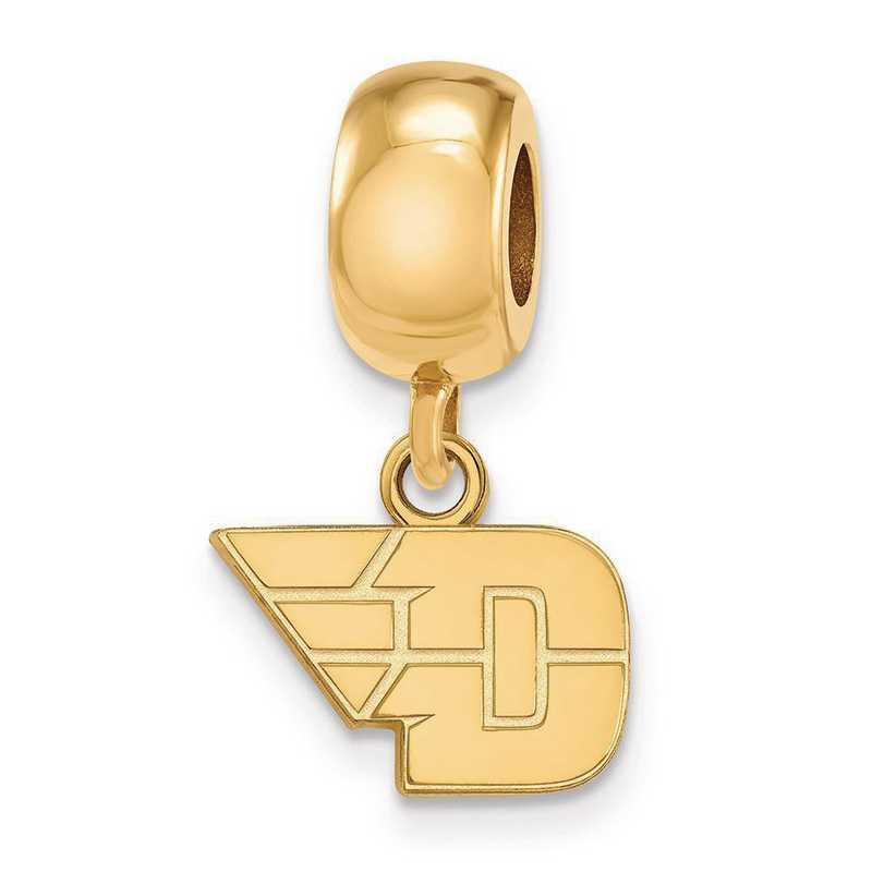 GP015UD: SS W/GP Logoart Univ Of Dayton Xs Reflection Beads Charm