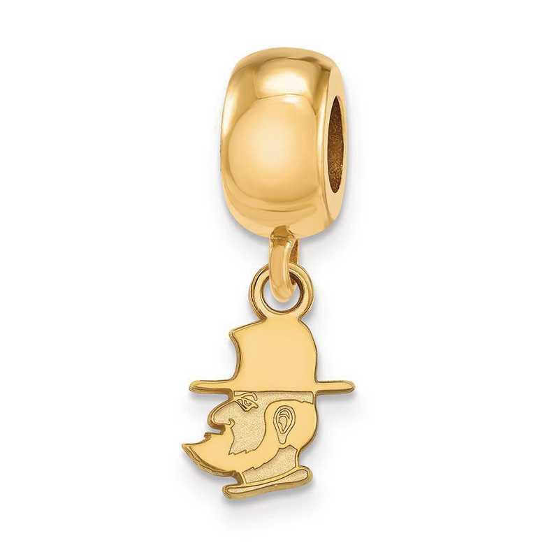 GP018APS: SS/GP Logoart Appalachian State U Xs Reflection Beads Charm