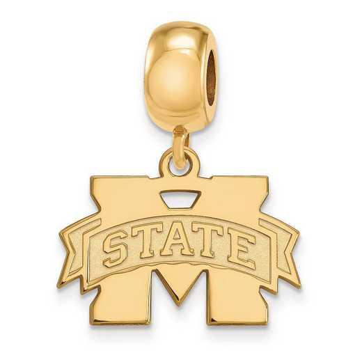 GP036MSS: SS W/GP Logoart Mississippi State U Small Reflection Beads