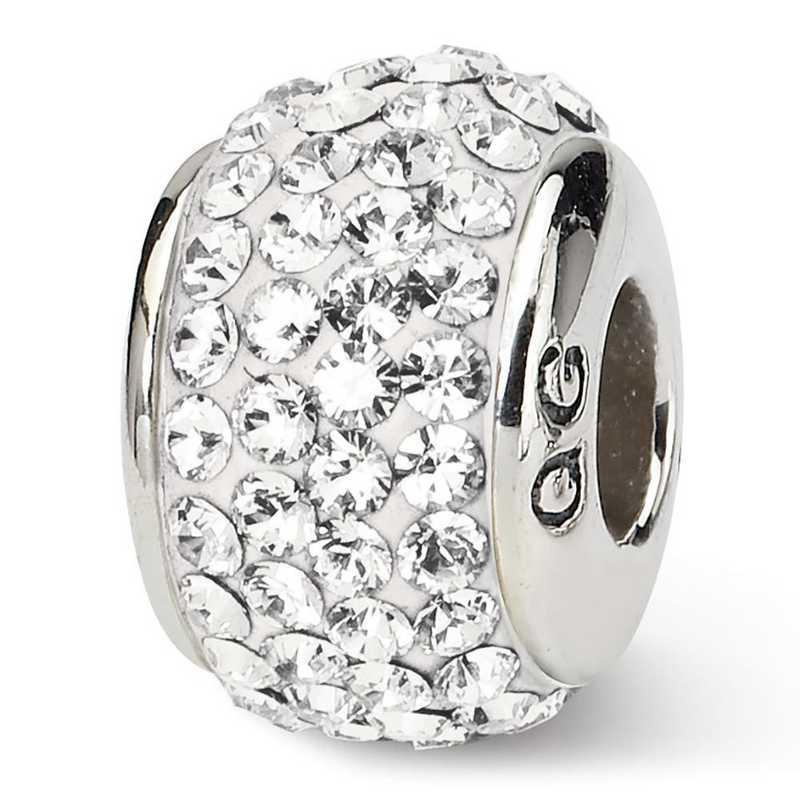 QRS1252APR: SS Reflection Beads April Full Swarovski Crystal Bead