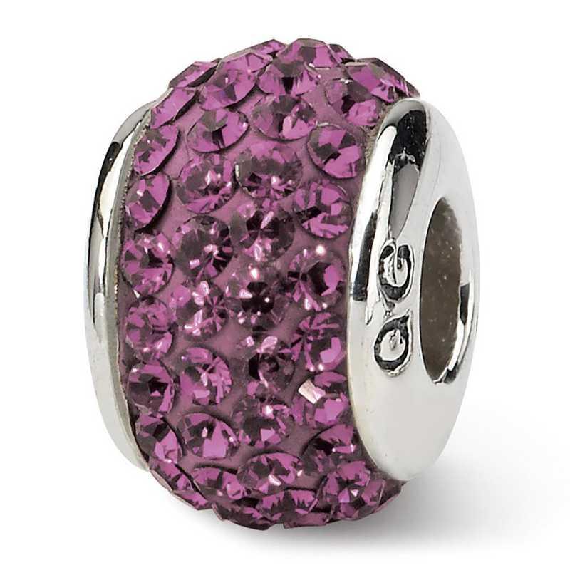 QRS1252FEB: SS Reflection Beads February Full Swarovski Crystal Bead