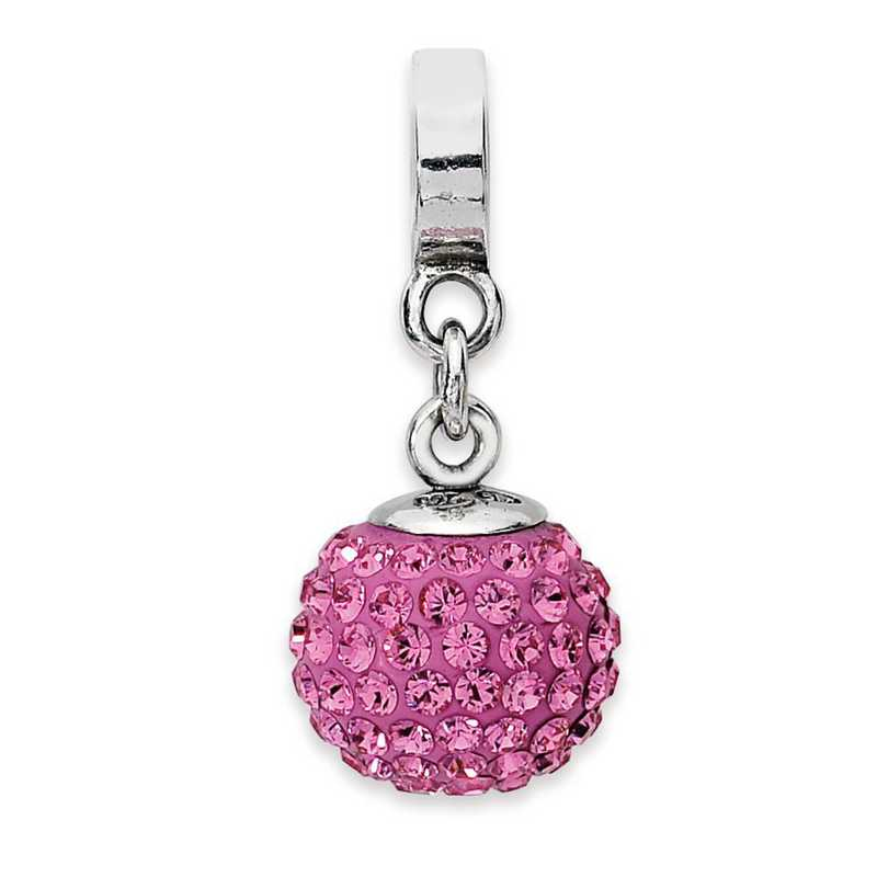 QRS1253OCT: SS Reflection Beads Oct Swarovski Crystal Ball Dangle Bead
