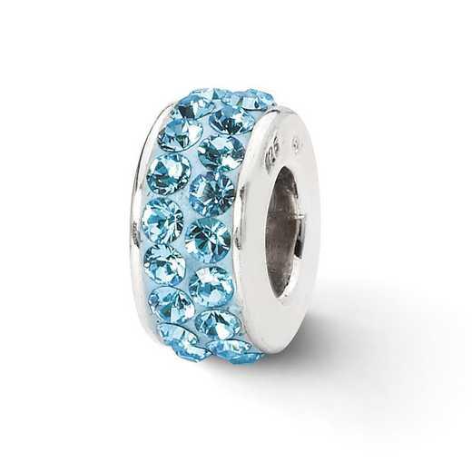 QRS2004: SS Reflection Beads Sky Blue Swarovski Crystal Bead