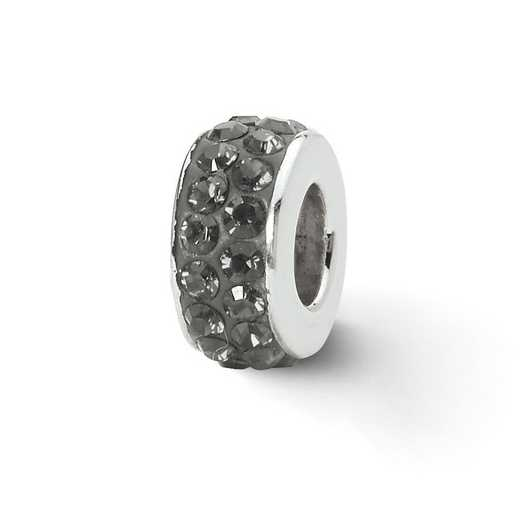 QRS2023: SS Reflection Beads Silver/Grey Swarovski Crystal Bead