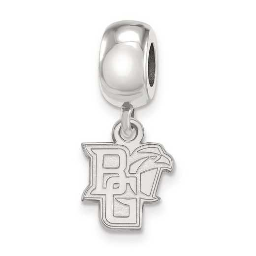 SS013BG: SS Logoart Bowling Green Stat U Xs Reflection Beads Charm