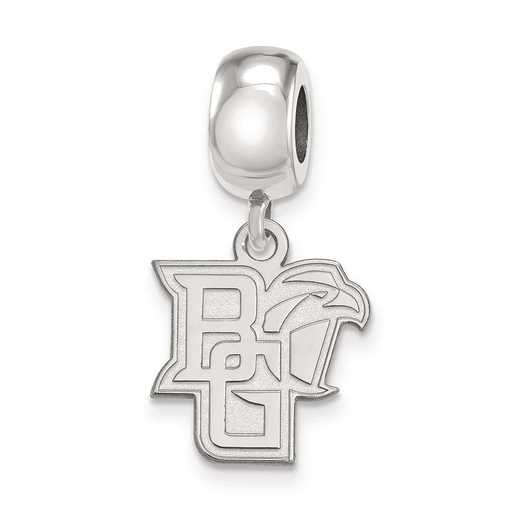 SS014BG: SS Rh-P Logoart Bowling Green St. U Small Reflection Beads