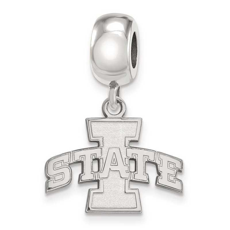 SS014IAS: SS Rh-P Logoart Iowa State Univ Small Reflection Beads