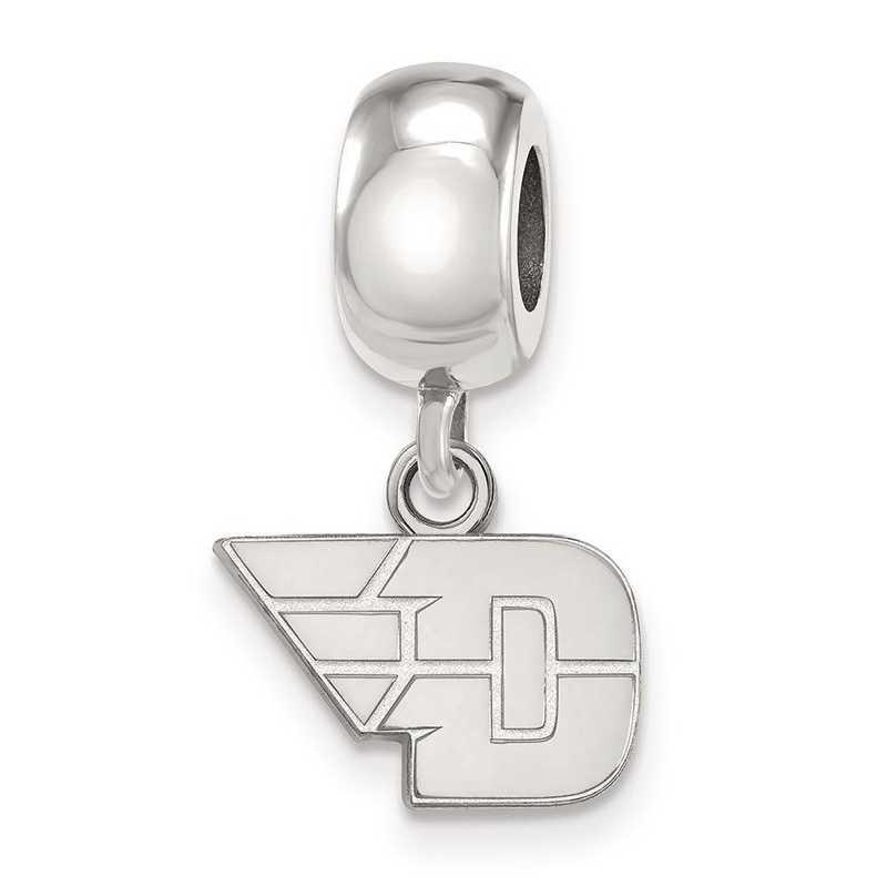 SS015UD: SS Logoart Univ Of Dayton Xs Dangle Reflection Beads Charm