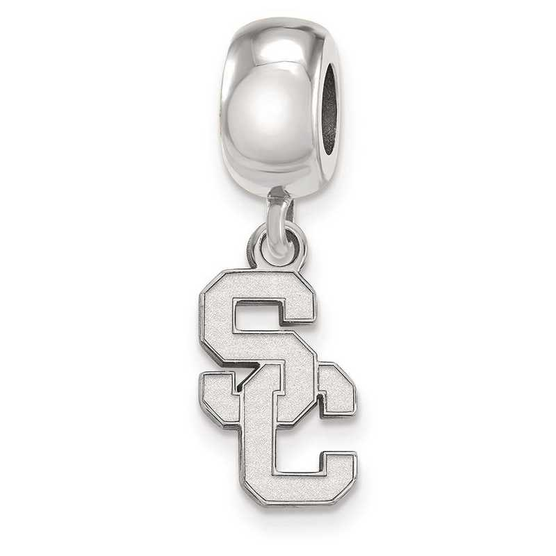 SS020USC: SS U Of Southern California Reflection Beads Charm Small