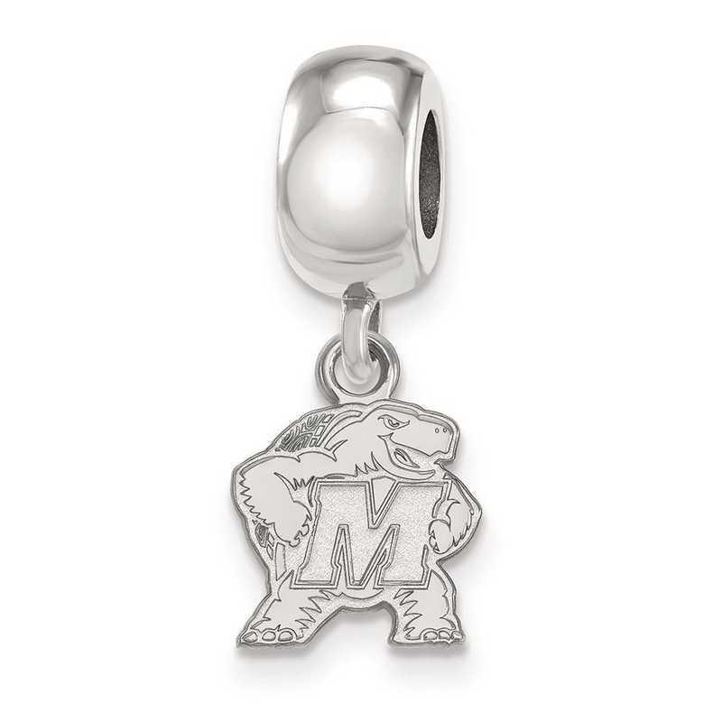 SS030UMD: SS Rh-P Logoart Maryl& Xs Dangle Reflection Beads Charm