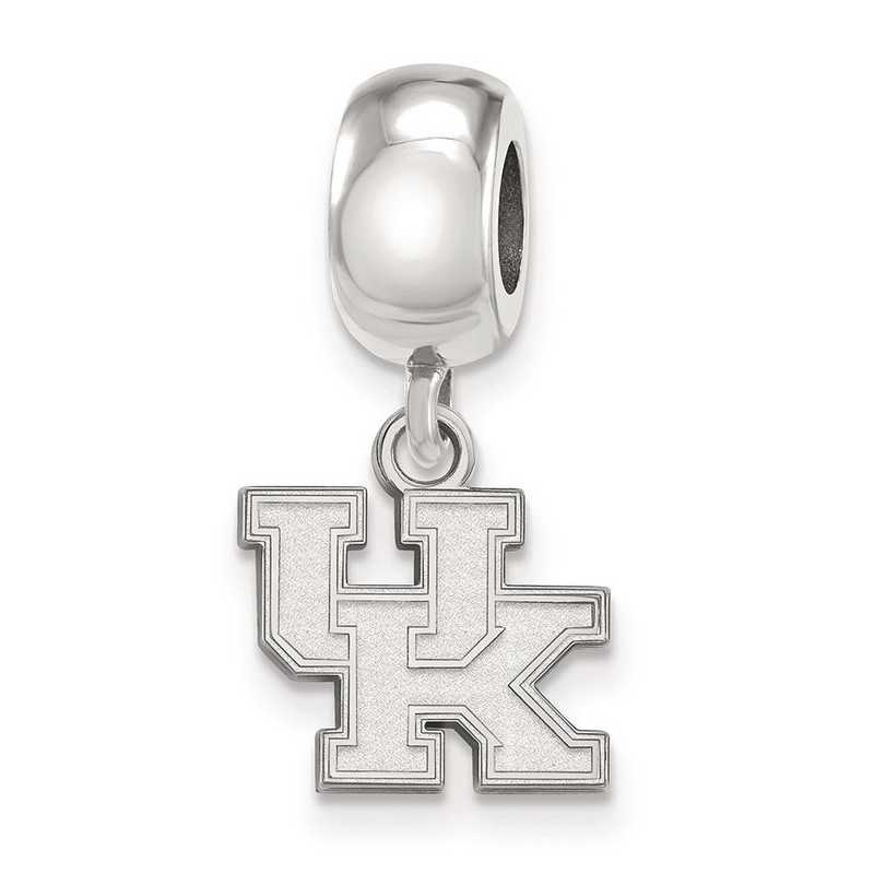 SS035UK: SS Rh-P Logoart Univ Of Kentucky Xs Reflection Beads Charm