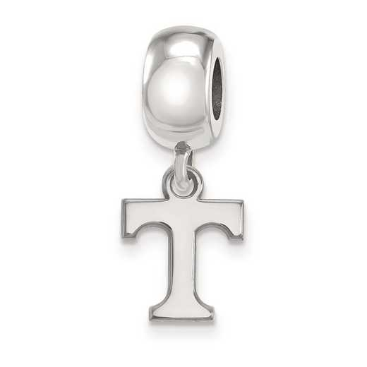 SS035UTN: SS Rh-P Logoart Univ Of Tennessee Xs Reflection Beads Charm