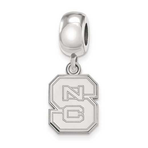 SS036NCS: SS Logoart North Carolina State Uni Small Reflection Beads