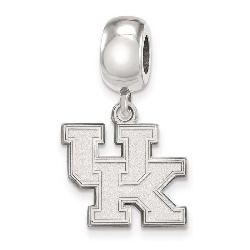 SS036UK: SS Rh-P Logoart Univ Of Kentucky Small Reflection Beads